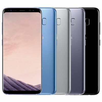 Samsung Galaxy S8 SM-G950U 64GB Factory Unlocked Android Smartphone