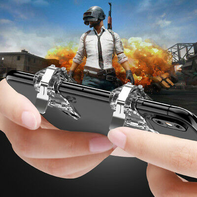 PUBG Fortnite Shooter Controller Trigger Fire Button Mobile Phone Game Handle AQ
