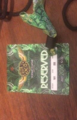 Peach Music Festival 4 Day Pass Ticket July 19-22 1 TIX Sec 101 Lower Row BB