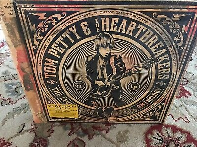 Tom Petty and the Heartbreakers Live Anthology - 7x Vinyl LP - NEW - Sealed