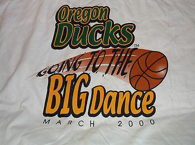 NCAA March Madness Oregon Mens Basketball T-Shirt Sz 2XL XXL Going to Big Dance