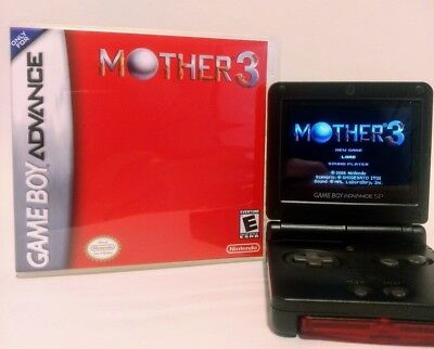 Mother 3 English Translation GBA with Custom Case