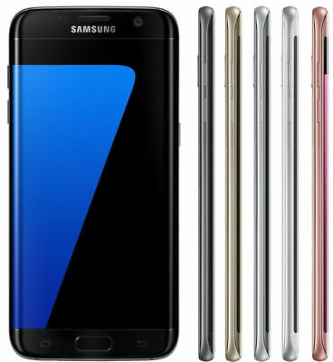 Samsung Galaxy S7 Edge 32GB G935T Unlocked GSM Android Smartphone Shadow LCD