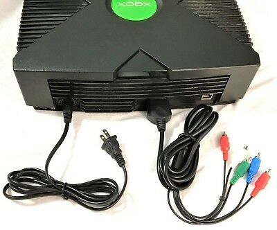 New HD Component AV Cable - Power Cord for the Original Microsoft Xbox