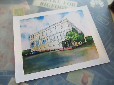 The Office Pams Painting Dunder Mifflin 11 x 14  Collectors Poster Print