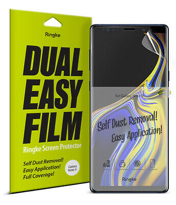 Samsung Galaxy Note 9 Screen Protector Ringke® Full Coverage Clear Film 3pcs