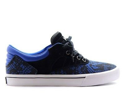 Supra Griffin Shoes in BlackBlueWhite - Mens Sizes Brand New
