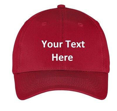 Baseball cap hat Custom Embroidery Personalized Embroidered