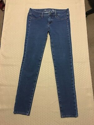 American Eagle Outfitters Woman's Stretch Jegging Blue Jeans Size 4 Reg