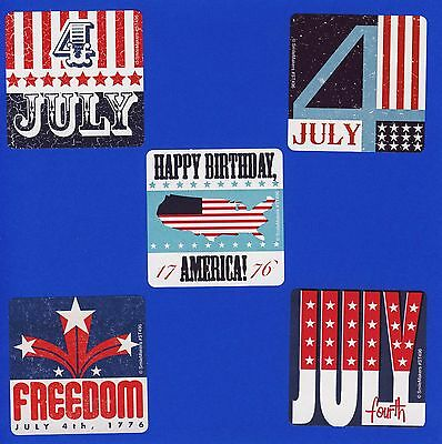 15 Fourth of July - Large Stickers - Party Favors - Rewards