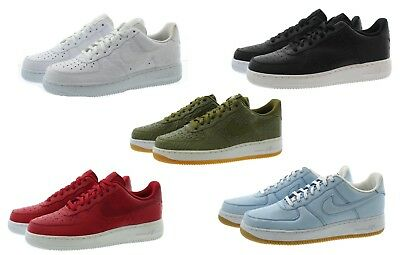 Nike 718152 Mens Air Force 1 07 LV8 Premium Leather Athletic Casual Shoes