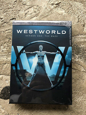 Westworld The Complete First Season DVD 2017 New Free Shipping