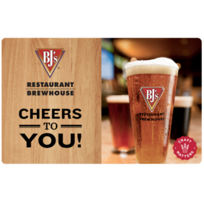 Buy a 60 BJs Restaurant Gift Card and get additional 15 75 card - Email