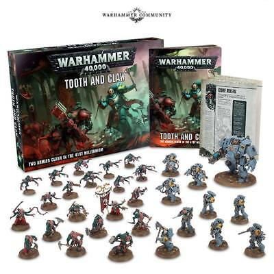 Warhammer 40k - Tooth and Claw Box Set - Brand New Ships FREE PRIORITY
