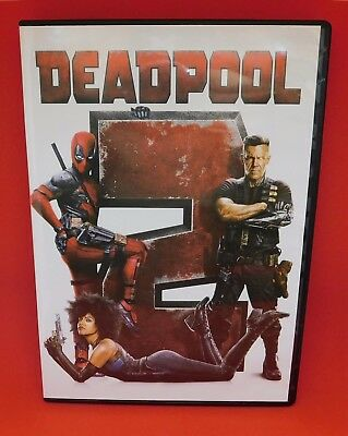 Deadpool 2 DVD2018 NEW  Action Comedy SFiction FREE SHIPPING