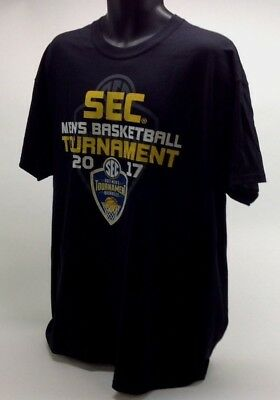 Gildan Mens 2017 SEC Basketball Tournament T Shirt Size XL Nashville TN J