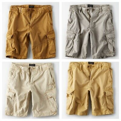 American Eagle Outfitters Mens Ripstop Cargo Shorts - Various - Sizes 35-48 NWT
