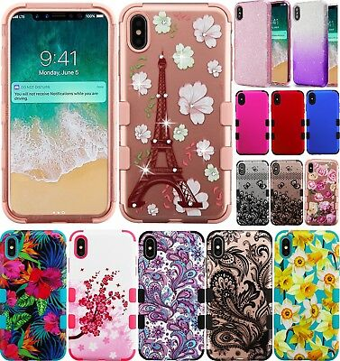 For iPhone XR 2018 Case Mybat TUFF Hybrid Phone Cover Shockproof Impact Tested