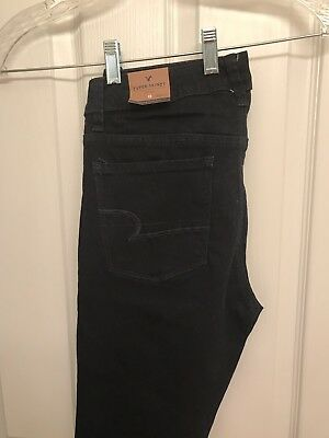 Nwt New American Eagle Outfitters jeans 8 Short Blue Super Skinny