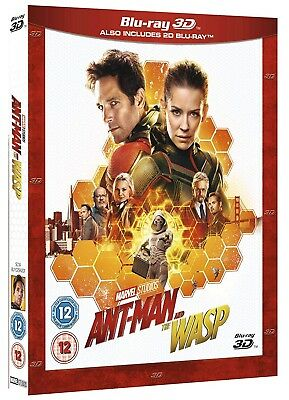 Disney Marvel Ant-Man and the Wasp 3D - 2D BLU-RAY
