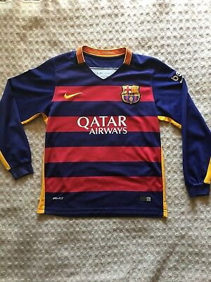 FC Barcelona Nike Dri Fit Lionel Messi Jersey Youth Large