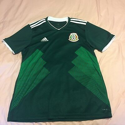 Mexico World Cup Adidas Home Soccer Jersey