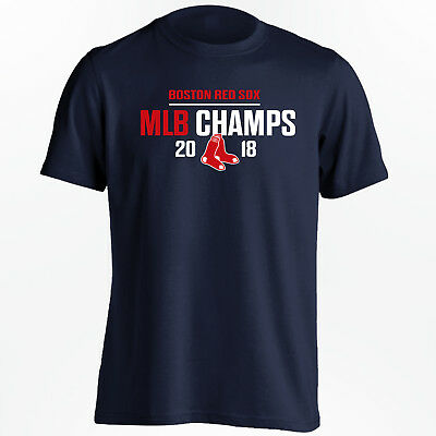 Boston Red Sox 2018 Champions T-Shirt - MLB World Series Champs - Size S to 5XL