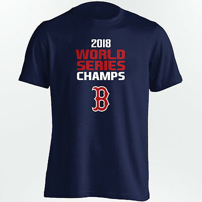 Boston Red Sox 2018 World Series Champions - MLB Champs - Size S to 5XL