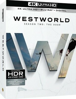 Westworld Second Seasonn 2 The Door 4K - Blu-ray NO DIGITALHBO Sci Fi -12418