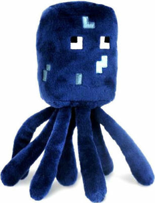 Minecraft Squid Plush Toy wLabel - NEW - FREE FAST USA SHIPPING