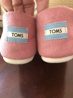 Toms Womens Shoes Size 6 Pink Girls In Box