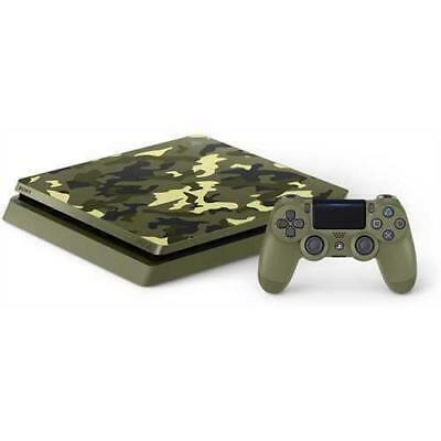 PlayStation 4 Slim 1TB Limited Edition Console GREEN CAMO