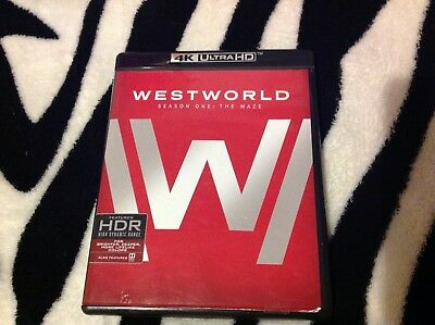 HBO Westworld Season 1 The Maze Blu Ray 4K Ultra HD