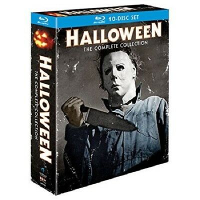 Halloween the Complete Collection Blu-ray 10 Disc Box Set RARE
