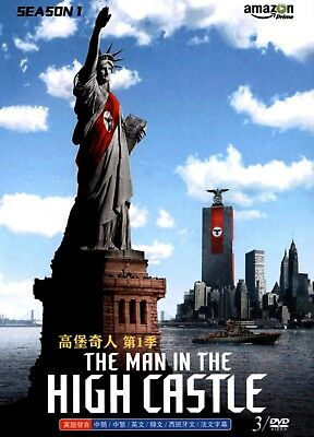 THE MAN IN THE HIGH CASTLE SEASON 1 NEW IMPORT DVD SET WITH ALL 10 EPISODES