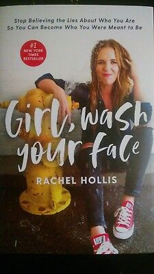 Girl Wash Your Face Stop Believing the Lies About Who You Are-HARDCOVER