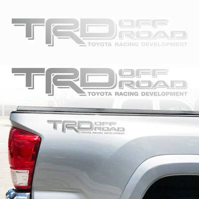 TRD Off Road Toyota Tacoma Tundra Decals Sticker Truck bedside decal 2Decals c1
