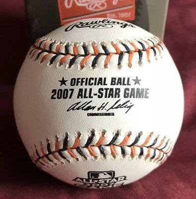 2007 ALL STAR GAME RAWLINGS OFFICIAL GAME BASEBALL ASBB07 NEW IN BOX