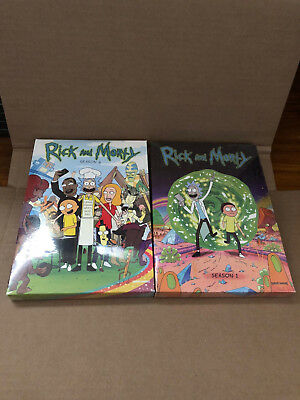 Rick and Morty The Complete Series Season 1-2