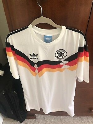 Vintage Rudy Voller Germany National Team Jersey World Cup 90- Size Large