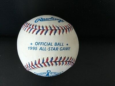 1995 ALL-STAR GAME OFFICIAL RAWLINGS BASEBALL - HOSTED BY TEXAS RANGERS