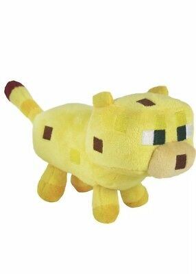 Cute Minecraft Baby Ocelot Plush Kids Toy - NEW - FREE FAST USA SHIPPING