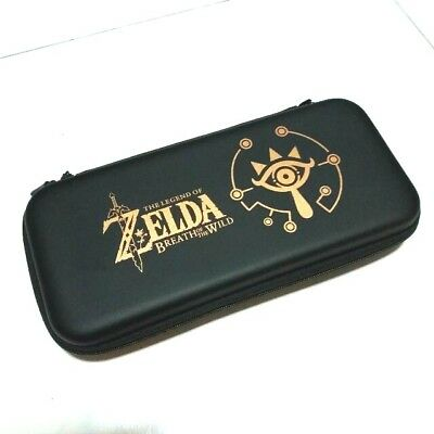 New Zelda Travel Case for Nintendo Switch - Holds 10 Games - Accessories