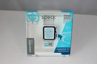Speck Products CandyShell Fit Case for Apple Watch 38mm WhiteBlack