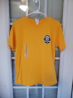 Gildan LSU Baseball 2013 SEC Tournament Champions T-shirt Youth Large