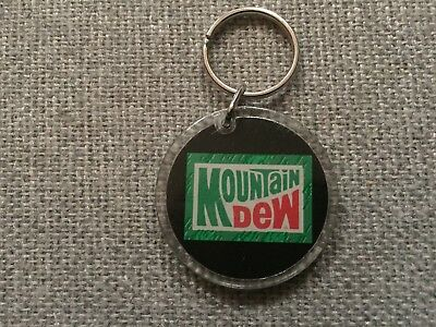 Vintage Mountain Dew March Madness Keyring