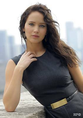 Jennifer Lawrence Sexy Expression  8x10 Glossy Photo Print