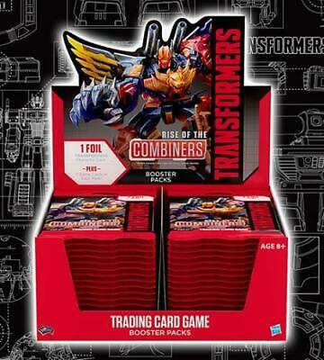 Transformers Booster Box 2019 Series 2 Rise Of The Combiners WOTC TCG Card Game