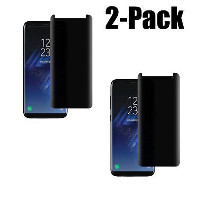 2x Privacy Tempered Screen protector Glass For Samsung Galaxy s9 SM-G960 G960U