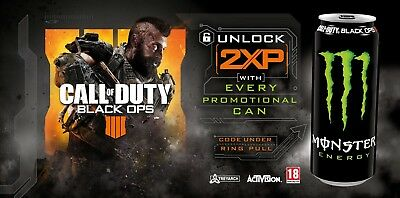 Call of Duty Black Ops 4 2x XP codes